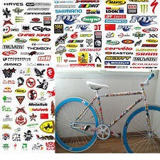 3 Sheet Car Bicycle Cycling Sticker Mountain Bike Skateboard Decal Stickers