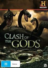 Clash of the Gods Complete Season 1 New DVD History Documentary Rating M R4 Free