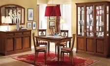 Exklusiver Wohnzimmer Set Nostalgia Nussbaum Furnier Design Stilmöbel Itaien