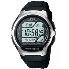 Casio stainless steel and resin waveceptor watch WV-58E-AVEF