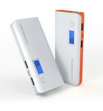 50000mAh 2 USB Power Bank LCD Backup External Battery Charger For Mobile Phone