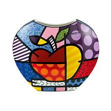 Goebel Big Apple - Vase Romero Britto Porzellan Pop Art Neu Apfel