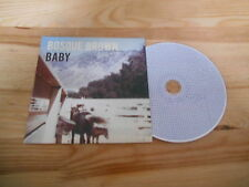 CD Pop Bosque Brown - Baby (13 Song) Promo FARGO REC cb