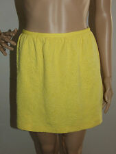 YELLOW TEXTURED BUBBLE SKIRT WITH ZIP SIZE 8 - COTTON ON