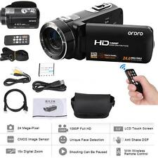ORDRO 1080P HD Digital Video Camera Camcorder 16×Zoom LCD Touch Screen 24MP R2I0