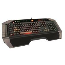 Mad Catz Saitek V.7 Keyboard USB Gaming Tastatur beleuchtet Makros