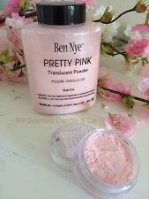 Ben Nye Translucent Powder Pretty Pink Make Up Setting Light Soft Sample Pot 5g