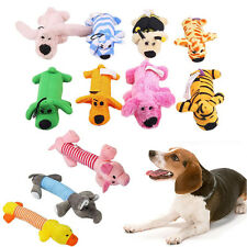 Pet Puppy Chew Squeaker Squeaky Plush Sound Pig Elephant Duck Ball For Dog-Toys