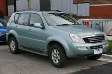 SSANGYONG REXTON I & II 2001-2012 WORKSHOP REPAIR SERVICE MANUAL ON CD