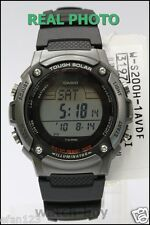 W-S200H-1A Digital Original Casio Watch Solar Power Stopwatch Lap Memory 120 New