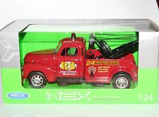 Welly - 1953 CHEVROLET TOW TRUCK - Die Cast Model - Scale 1:24