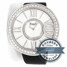 Piaget Limelight G0A36156 Quartz 39mm White Gold Diamond Dial Strap Ladies Watch