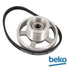 Genuine BEKO Tumble Dryer Belt and Pulley Assembly 492204404