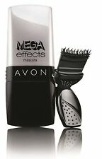 2x Avon Mega Effects Limited Edition Mascara - Waterproof - Hypoallergenic-Black