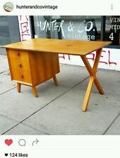 Rosando desk Mid Century Retro Vintage snelling fler Parker Teak 1950s fred ward