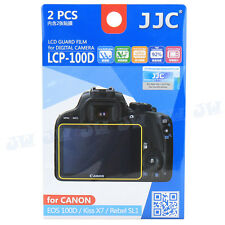 JJC LCD Guard Film Camera Screen Protector For Canon EOS 100D Kiss X7 Rebel SL1