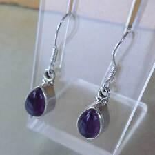 Schöne  Ohrhänger mit Amethyst -925 Silber-