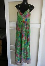 Collette dinnigan silk maxi dress size S