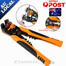 New Automatic Wire Cutter Stripper Pliers Electrical Cable Crimper Terminal Tool