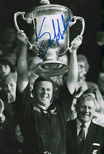 """Sean Fitzpatrick """"Rugby All Blacks"""" signed 8x12 inch photo autograph"""