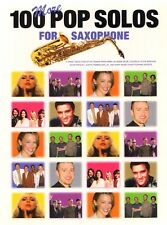100 More Pop Solos for Saxophone aktuelle Pop Songs Noten für Saxofon u. Gitarre