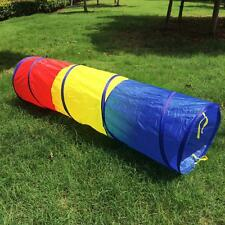 Portable Pop Up Crawl Tunnel Indoor Outdoor Kids Children Play Tent Tube New
