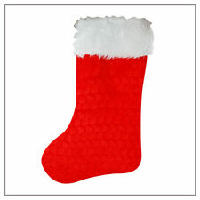 Deluxe Large Traditional X Mas Christmas Stocking Decoration Present Gift New