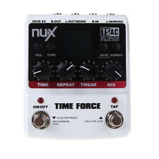 NUX Guitar Effect Pedal Time Force Multi Digital 11 Delay Effects Kill Dry