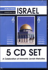 ISRAEL - 5 CD BOX - YIDDISH and ISRAELI MELODIES (NEU & OVP)