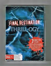 Final Destination Thrill-ogy Dvd 3-Movie Collection 3-Disc Brand New & Sealed