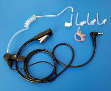 Security Headset Kopfhörer 3.5 mm Klinke.+Mikro. mit auswechselbaren Ohrstöpseln