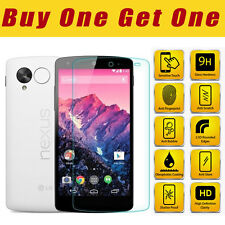 Genuine 100% TEMPERED GLASS Invisible HD Screen Protector For GOOGLE LG NEXUS 5