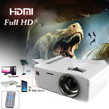 4000 Lumens HD 1080P Home Theater Projector HD LED Portable SD HDMI AV USB New