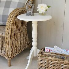 French style pedestal side table Ivory PAC077IV WAS £74.99