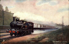 "Eisenbahn ~1920 Railway Express ""Wild Irishman"" Tuck`s Post Card Oilette Series"