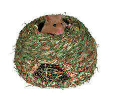 Natural Grass Nest Bed for Gerbils Mice & Hamsters 16cm