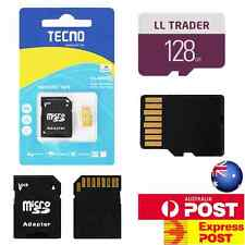128GB Micro SD TF Memory Card with Adapter SDHC Class10 Mobile Phone Camera Pro