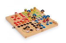 Gesellschaftsspiel Pirateninsel Holzbox Brettspiel Würfelspiel NEU