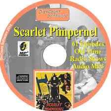 Scarlet Pimpernel OTR - 61 Old Time Radio Shows - Audio MP3 CD OTR