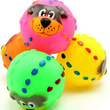 New Ball Pet Dog Tough Treat Trainning Chew Sound Food Activity Toy Squeaky