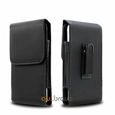 Leather Case Holster Pouch for Samsung Galaxy S6 Edge+ | Note 5 with Belt Clip