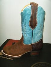 Wrangler Handcrafted Leather Cowboy  Western Boots 6.5 men or 9 ladies