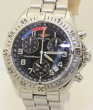 2001 Stainless Steel Colt Chrono Breitling Transocean Chronograph A53340