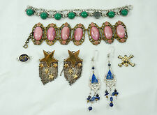 Lot of jewelry for repair / needs love: sterling silver, vintage, mexican