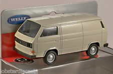 VOLKSWAGEN T3 VAN in White 1/38 scale model by WELLY