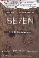 SE7EN (2-DISC DELUXE EDITION) SEVEN **NEW & SEALED** DVD R4 Brad Pitt