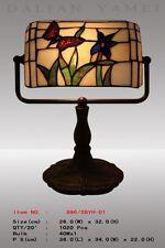 Banker Lampe Tiffanylampe Tiffany Schreibtischlampe Schmetterling , neu, T102M