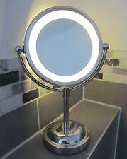 "Kosmetikspiegel mit LED-Beleuchtung 5-fache Vergößerung ""Top Qualität"" 33095"