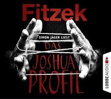 """Hörbuch: SEBASTIAN FITZEK """"DAS JOSHUA PROFIL"""" 6 CDs LüBBE-AUDIO 413 min."""
