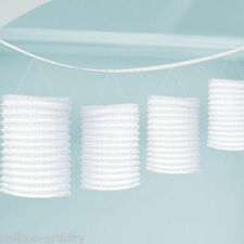 3.65m WHITE Wedding Birthday Party Paper Lantern Garland Decoration